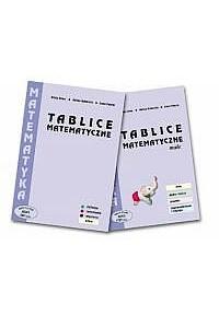 "PAKIET Tablice matematyczne"" NR MEN 544/2004-oprawa twarda Tablice matematyczne małe  Nr MEN 1757/2004fff"