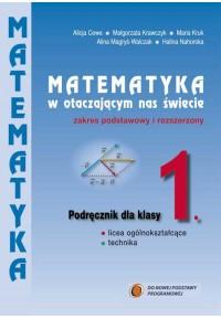 Podręcznik 1 Matematyka w otaczającym nas świecie kl.1. Zakres podstawowy i rozszerzony fff
