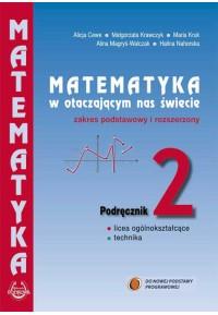 """Podręcznik 2 """"Matematyka w otaczającym nas świecie""""  zakres podstawowy i rozszerzony.fff"""