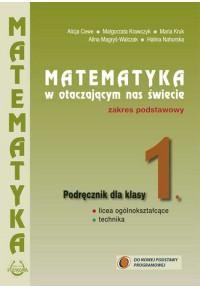 Podręcznik  1. Matematyka w otaczającym nas świecie kl. 1.Zakres podstawowyfff