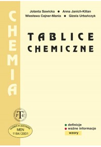 Tablice chemiczne-oprawa broszurowa