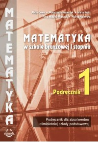 """Podręcznik 1"""" Matematyka w branżowej szkole I stopnia""""fff"""