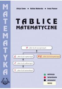 Tablice Matematyczne-oprawa broszurowa